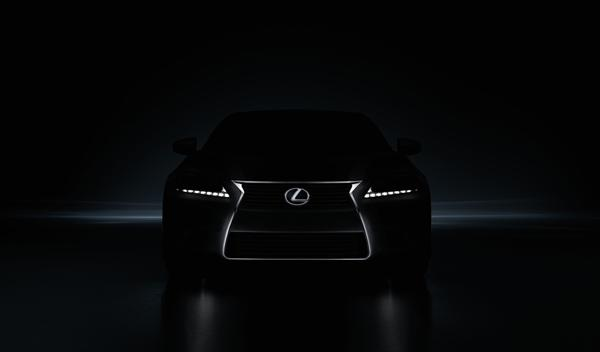 El nuevo Lexus GS desvela su primera imagen
