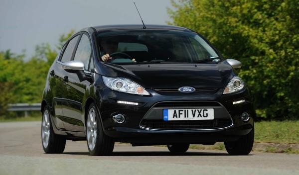 Ford Fiesta Centura frontal