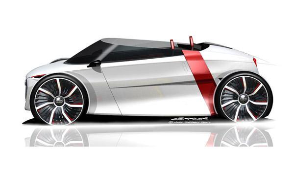 Audi urban concept Spyder: el descapotable más eficiente