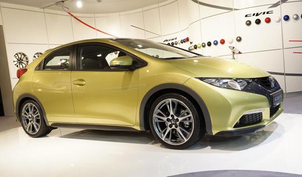 Honda Civic, solo en cinco puertas