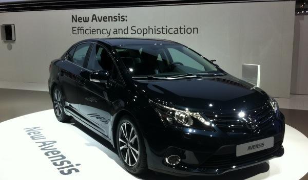 Toyota Avensis, renovación en el Salón de Frankfurt 2011