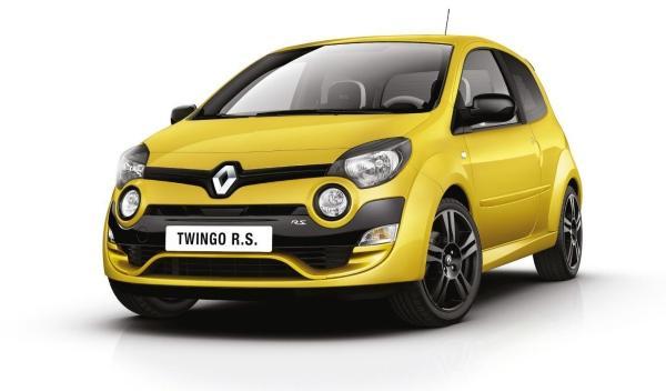 El nuevo Twingo R.S. llega al Salón de Frankfurt 2011