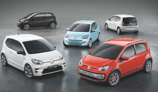 Volkswagen y la familia up! en el Salón de Frankfurt 2011
