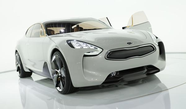 Kia GT Concept frontal Salón Frankfurt 2011