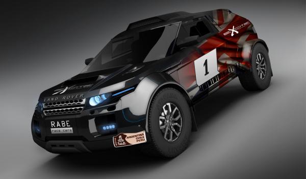 El Range Rover Evoque correrá el Dakar 2013