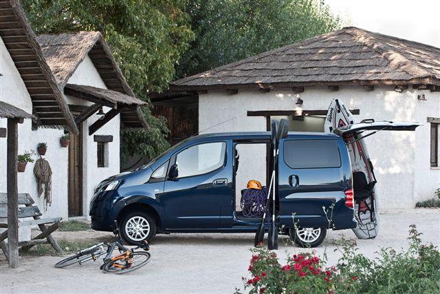 Apertura de puertas del Nissan Evalia