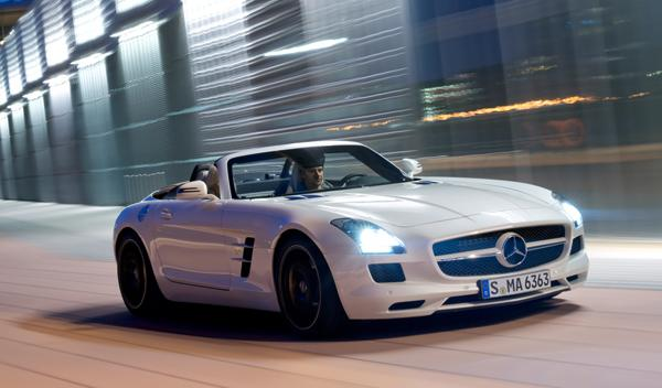 El Mercedes SLS AMG Roadster sale a la venta por 226.000 €