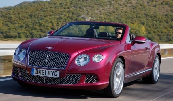Bentley Continental GTC tres cuartos delantero