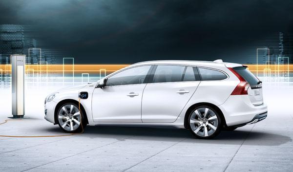El Volvo V60 Híbrido Enchufable se venderá en 2012