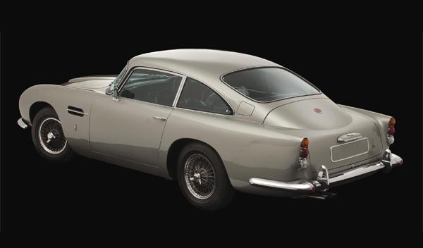 Subastado el Aston Martin DB5 del 'beatle' George Harrison