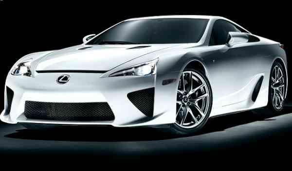 Lexus LFA delantera