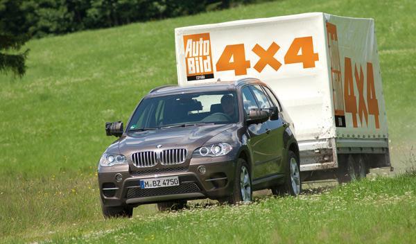 BMW X5 remolque frontal