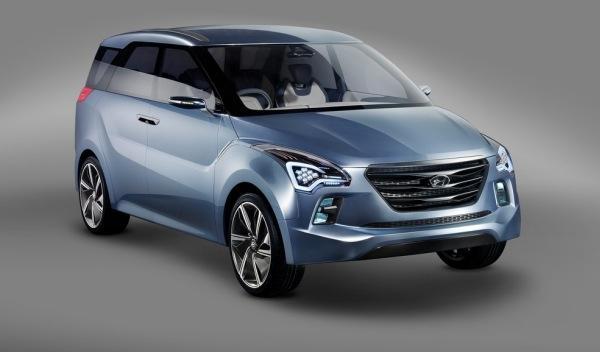 Hyundai Hexa Space Concept frontal