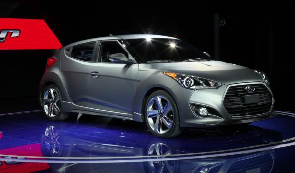 Hyundai Veloster Turbo - Salón de Detroit 2012