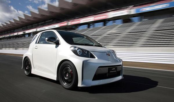 Toyota iQ Supercharger, con 130 caballos