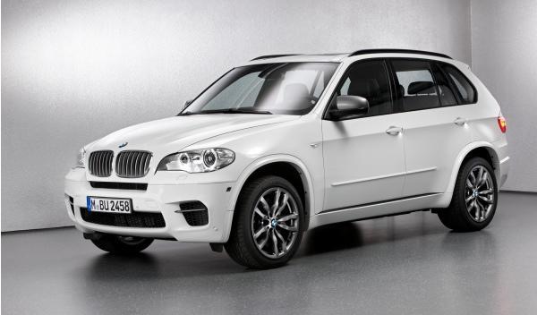 Frontal del BMW X5 M50d