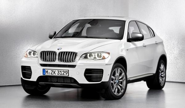 BMW X6 M50d frontal lateral