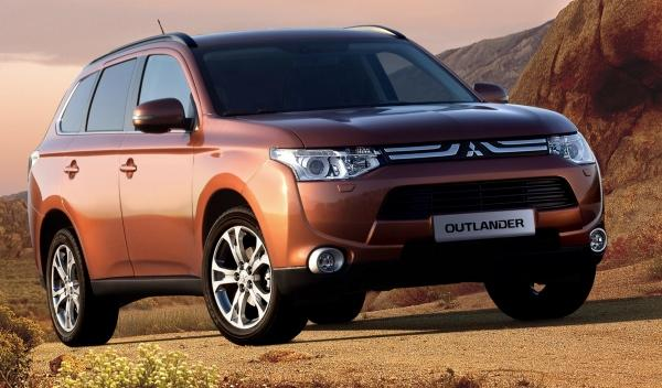 Mitsubishi Outlander 2012 frontal