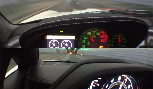 Lamborghini Aventador y Ferrari 599 GTO: sonidos salvajes