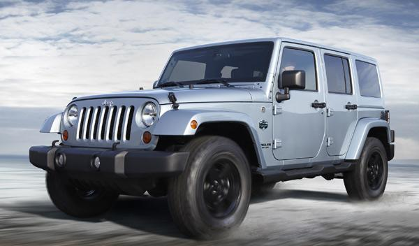 Jeep Wrangler Artic frontal