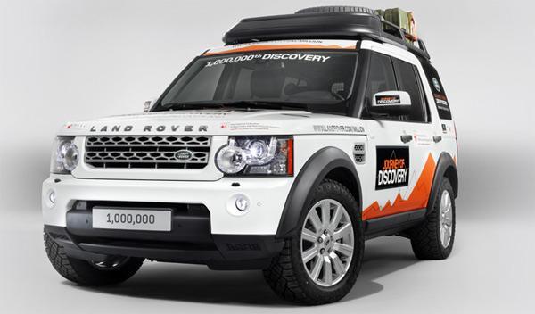 Land Rover Discovery un millón frontal