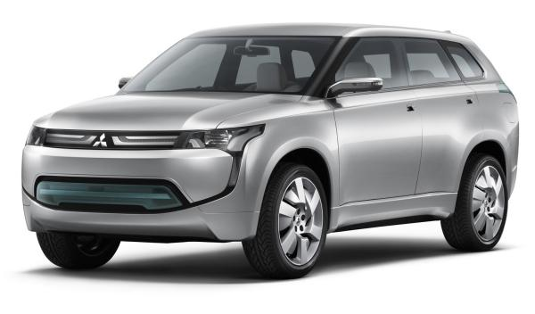 Mitsubishi Outlander P-HEV frontal salón de Ginebra 2012