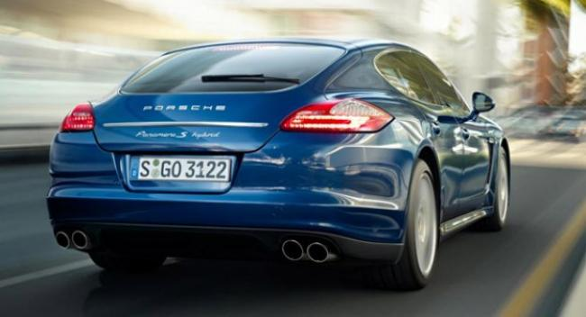 El Porsche Panamera Plug-in Hybrid se 'enchufará' en 2014