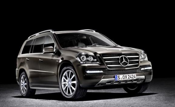 Segunda generación del Mercedes Benz GL: ya está en camino