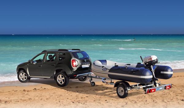Dacia Duster Pack Marine: un todocamino con Zodiac incluída
