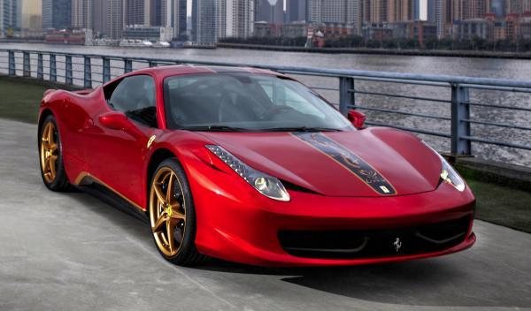 Ferrari 458 Italia para China