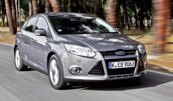 Ford Focus 1.0 EcoBoost 125 dinámica frontal
