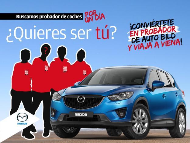 Ya tenemos ganador para ser probador del Mazda CX-5