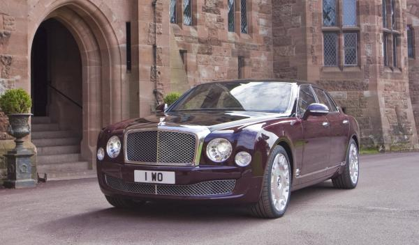 Bentley Mulsanne Diamond Jubilee Limited Edition