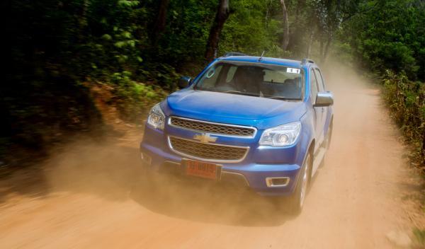 Chevrolet Colorado 2012, frontal en Tailandia
