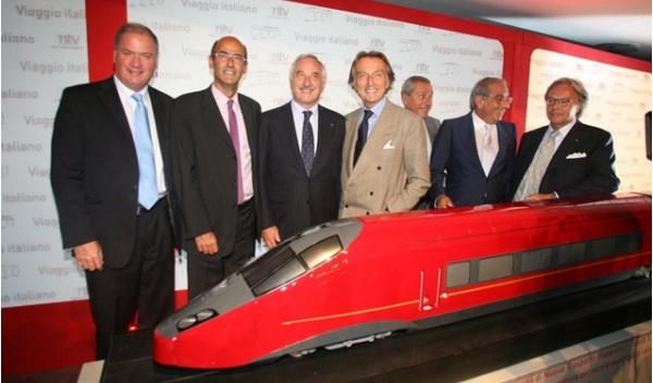 Italo, el tren Ferrari que alcanza 360 km/h
