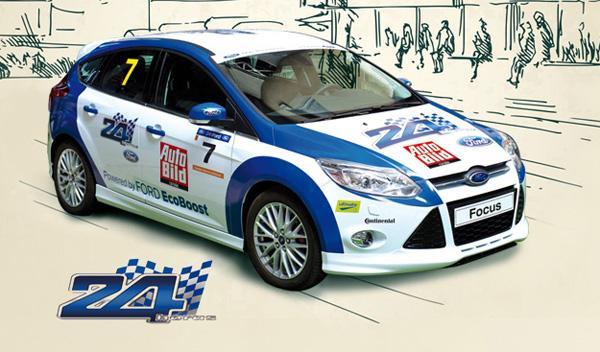 Alberto Velascoin correrá con AUTO BILD las 24 Horas Ford