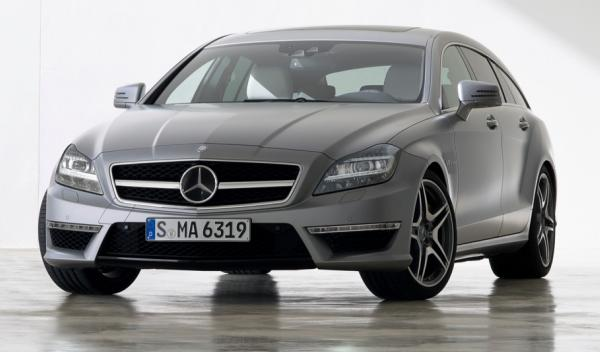 Mercedes CLS AMG Shooting Brake frontal