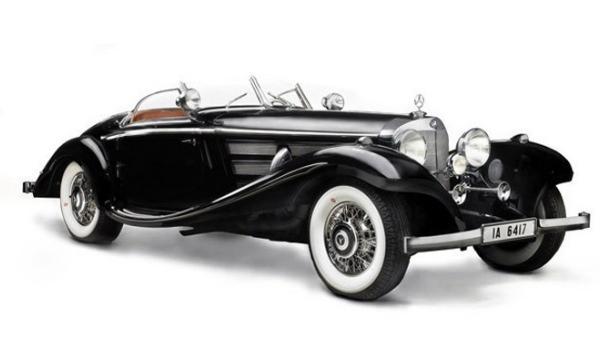 Un Mercedes de 1937, a subasta por 17 millones de dólares