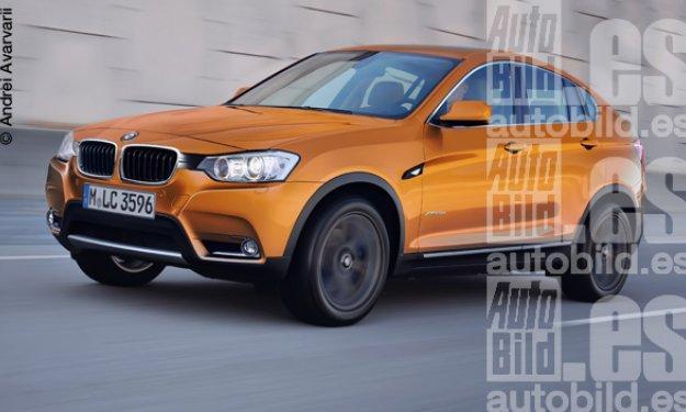 BMW X4M, frontal