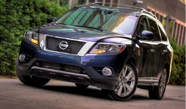 Nissan Pathfinder, frontal