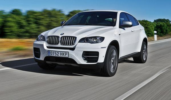 BMW X6 M50d, frontal