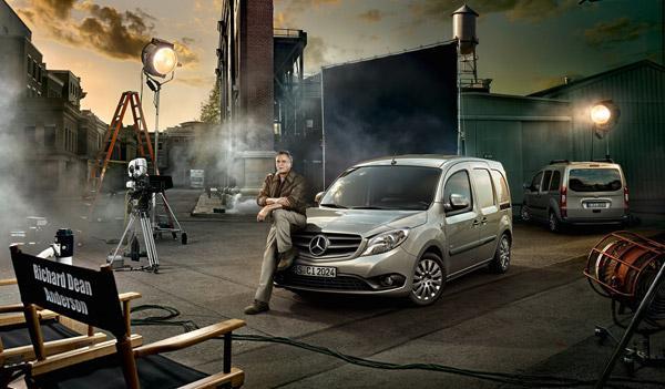 Mercedes acude a MacGyver para promocionar la nueva Citan