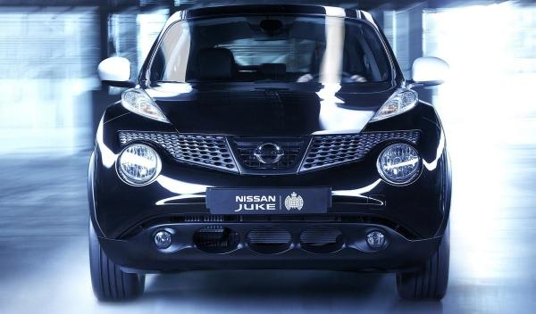 Nissan Juke Ministry of Sound, frontal