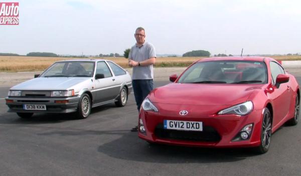 El Toyota GT86 vs AE86: enfrentándose al pasado