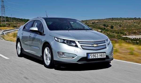 Delantera del Chevrolet Volt