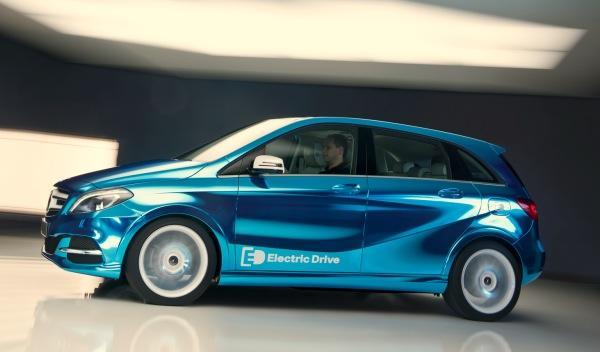 Mercedes Clase B Electric Drive: otro eléctrico en París