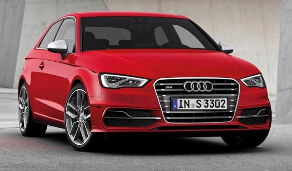 Audi S3 2013 frontal