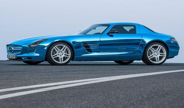 Mercedes SLS AMG Coupé Electric Drive lateral