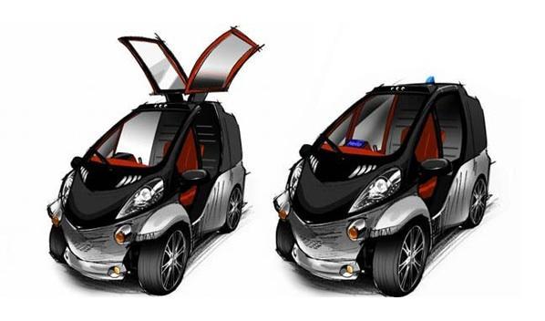 Toyota Smart Insect: para moverse en el futuro