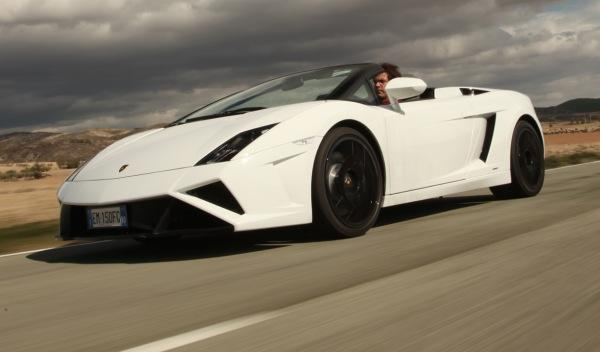 Nuevo Lamborghini Gallardo Spyder 2013 delantera